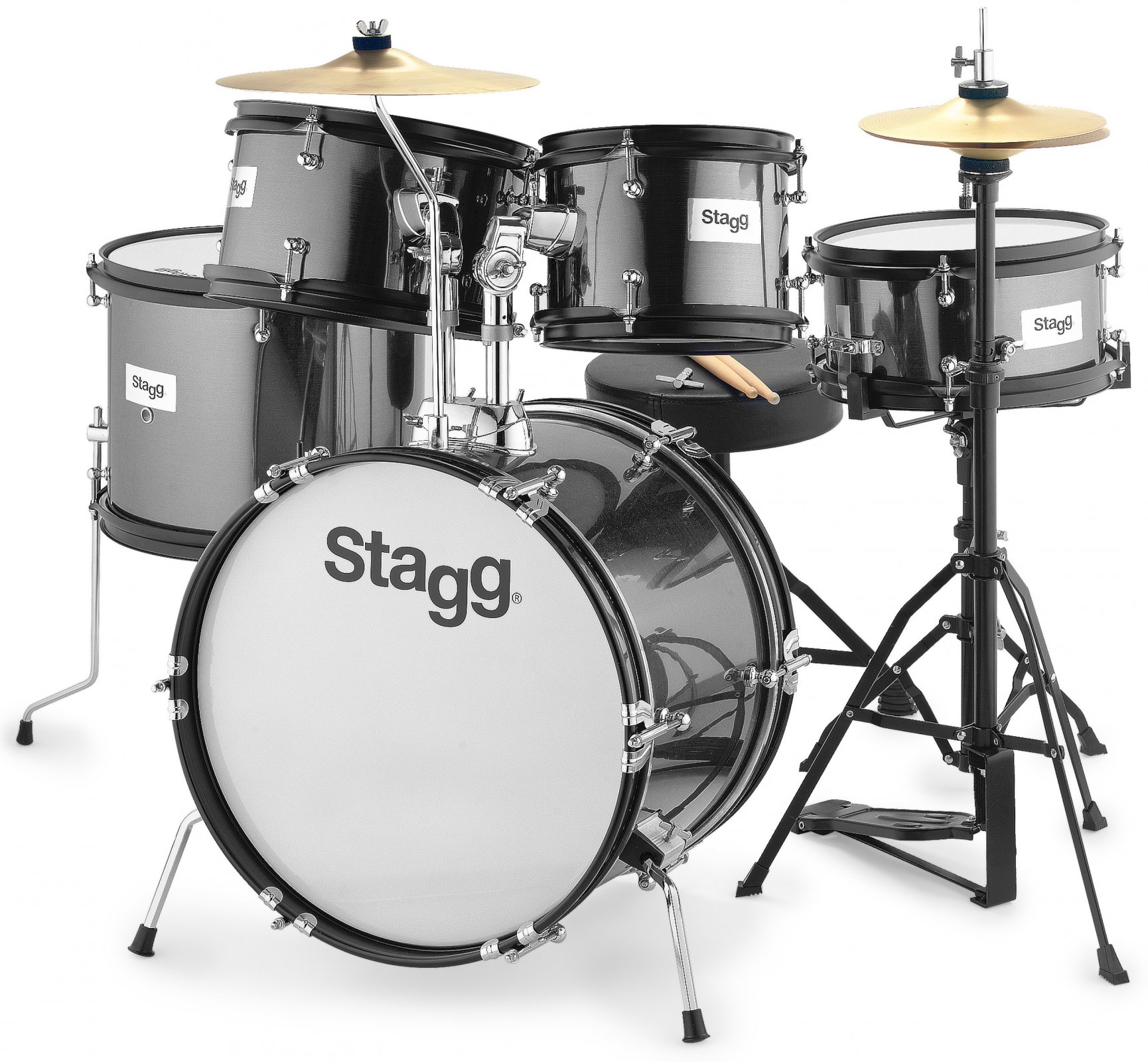 Stagg 5-Piece Junior Drum Set