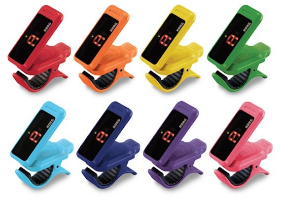 Korg Pitchclip Clip-on Chromatic Tuner