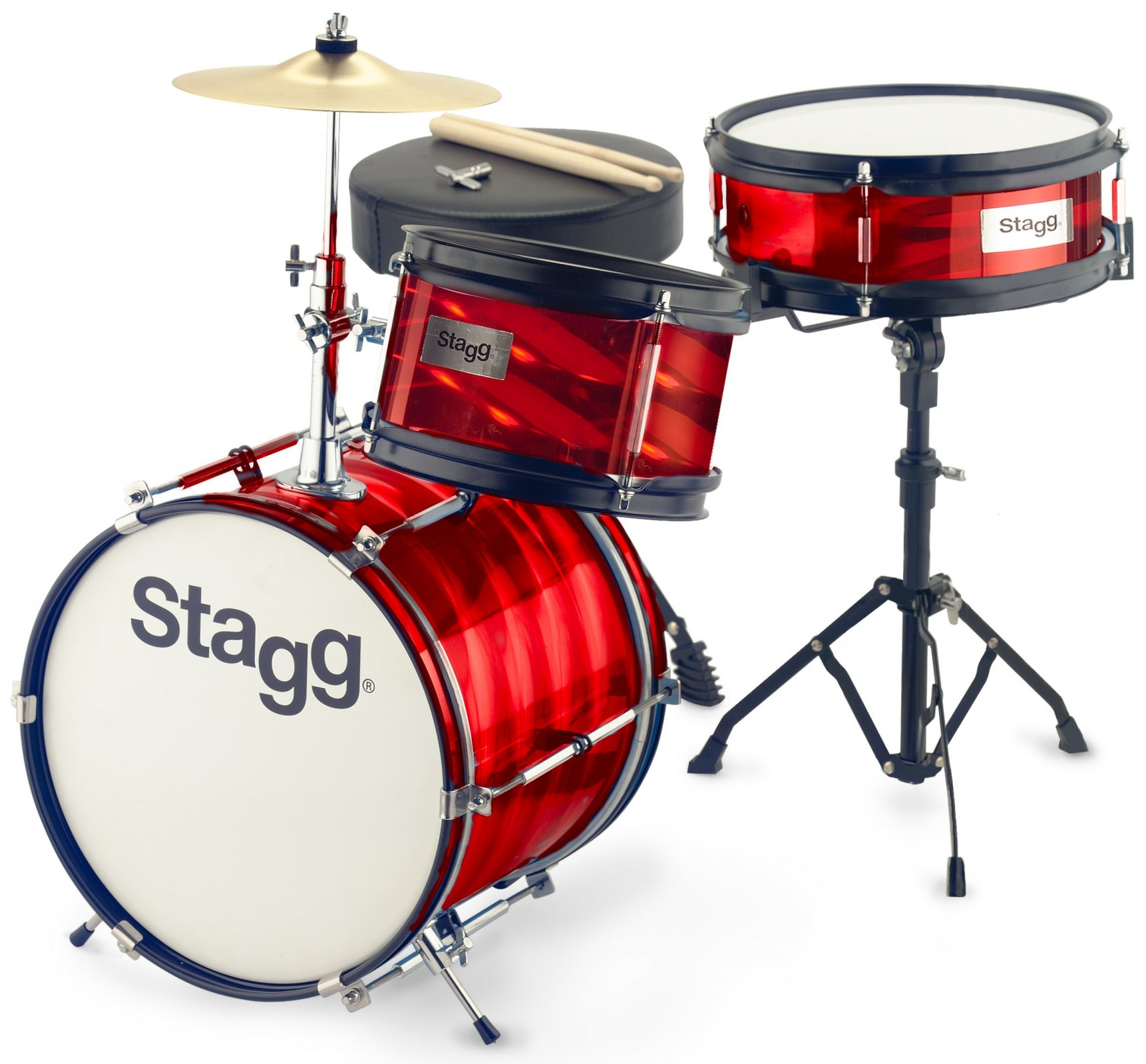 Stagg 3-Piece Junior Drum Set