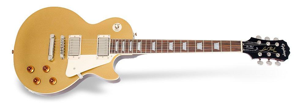 Epiphone Les Paul Standard Electric Guitar - Gold Top