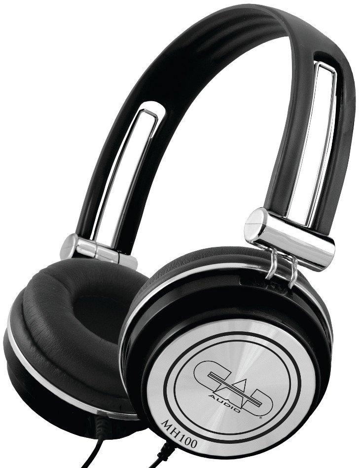 CAD Audio MH100 Closed-Back Mid-Size Studio Headphones - Black