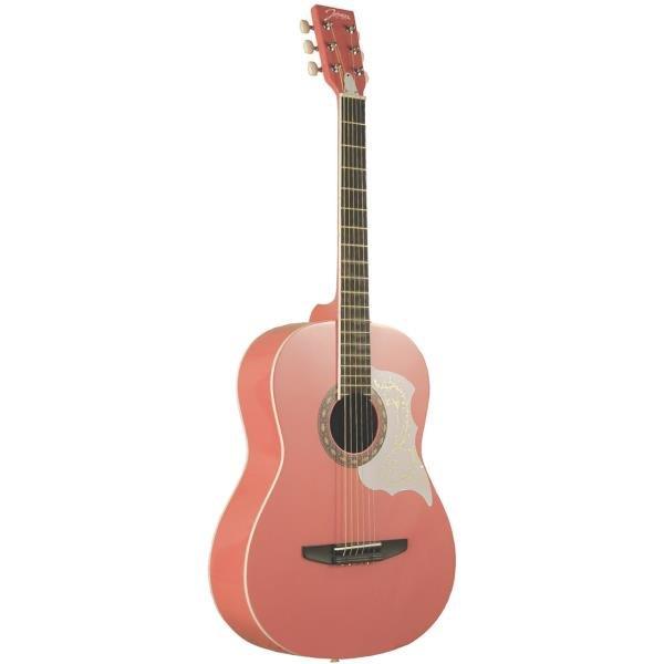 Johnson Starter Acoustic Guitar - Pink