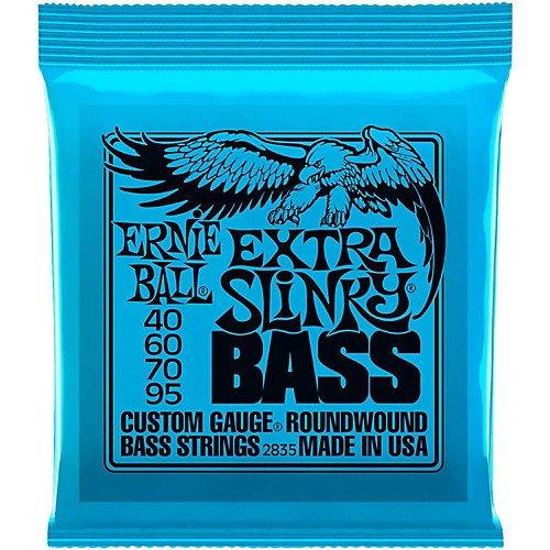 Ernie Ball 2835 Extra Slinky RoundWound Bass Strings