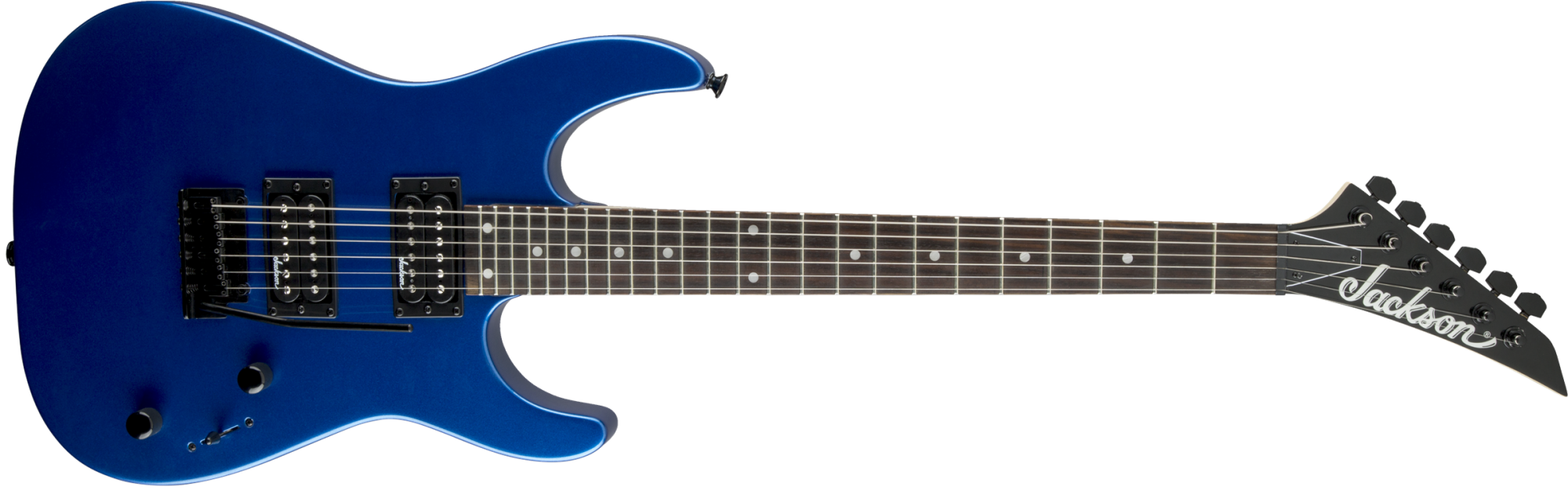 Jackson JS12 Dinky Electric Guitar - Metallic Blue