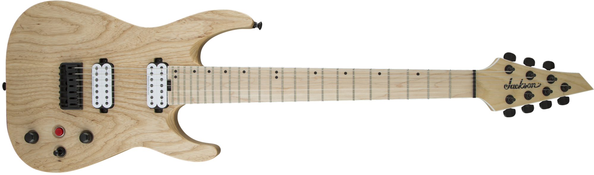 Jackson Pro Series Dinky DKA7M HT 7-String - Natural Ash - Open Box
