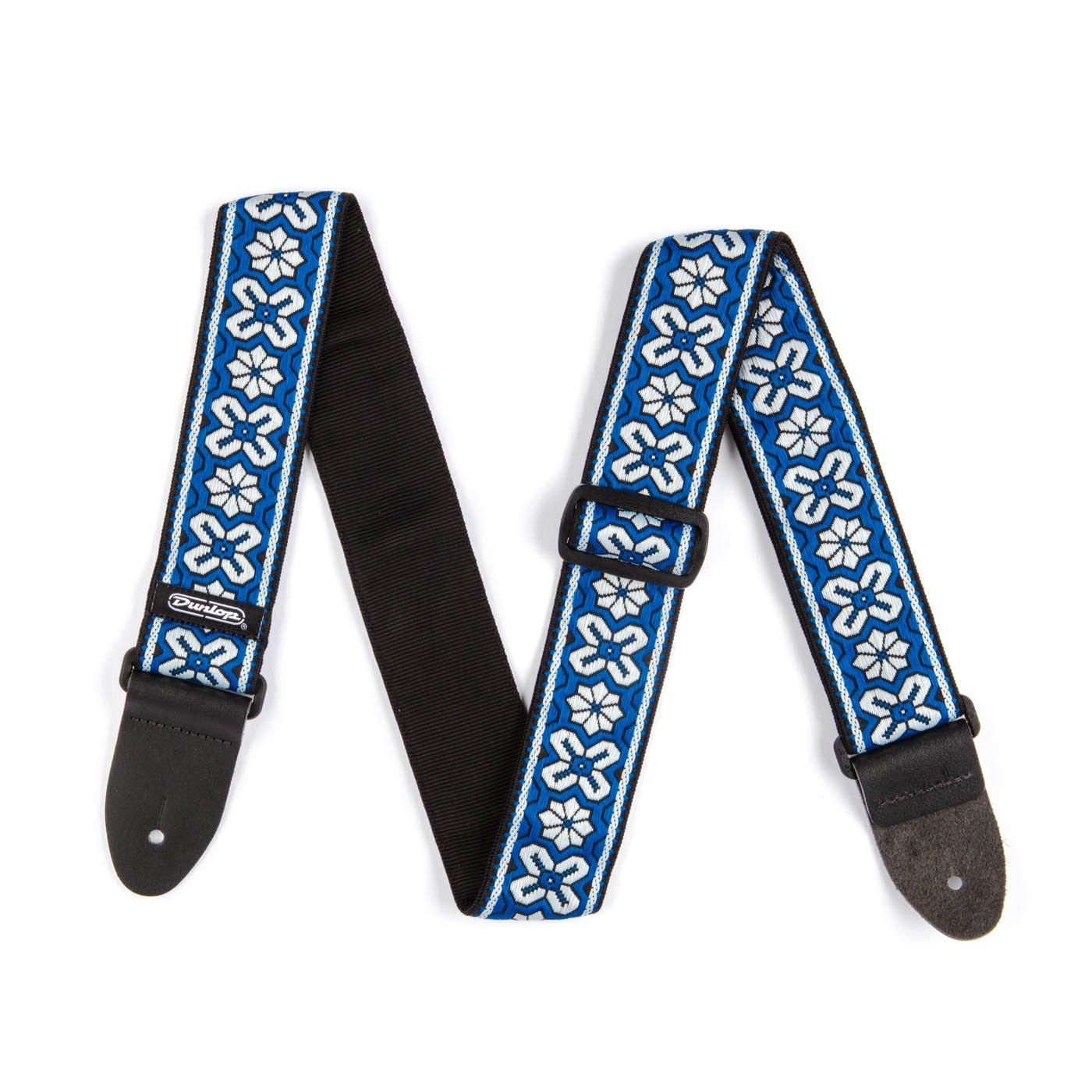 Dunlop D6703BL Avalon Blue Jacquard Guitar Strap