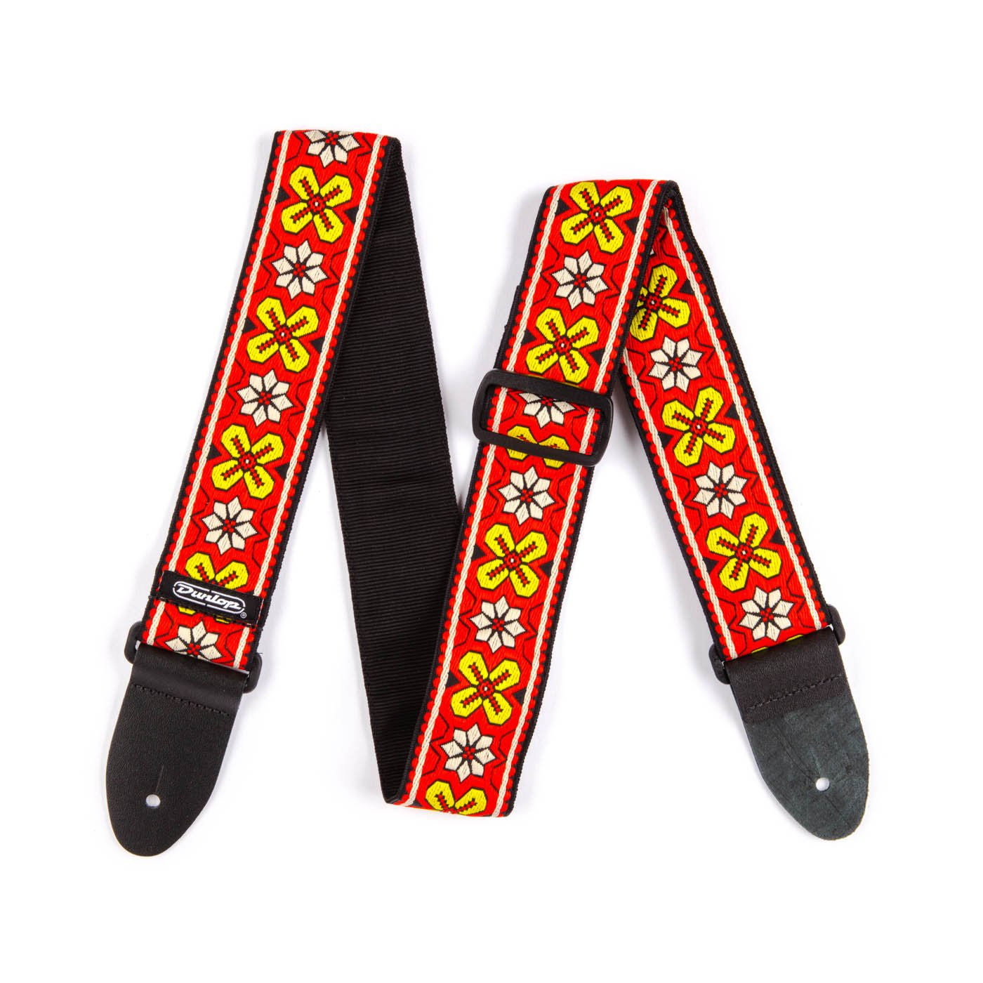 Dunlop D6703RD Avalon Red Jacquard Strap
