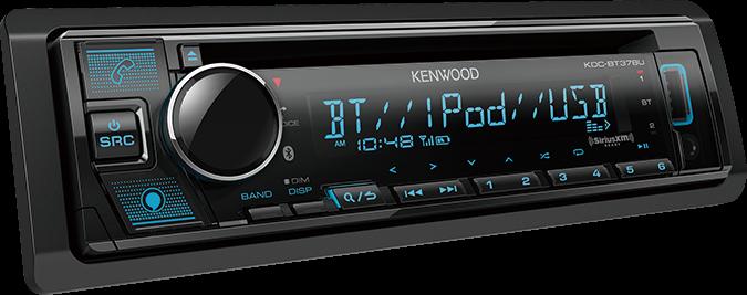 Kenwood KDC-BT378U w/ Amazon Alexa