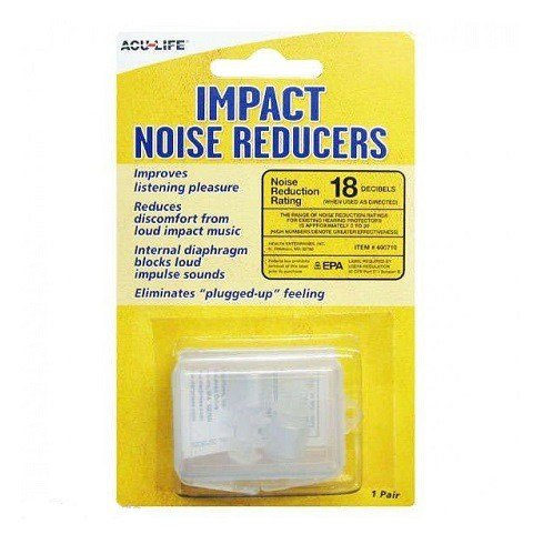 ACU-LIFE Music - Impact Noise Reducing Ear Plugs