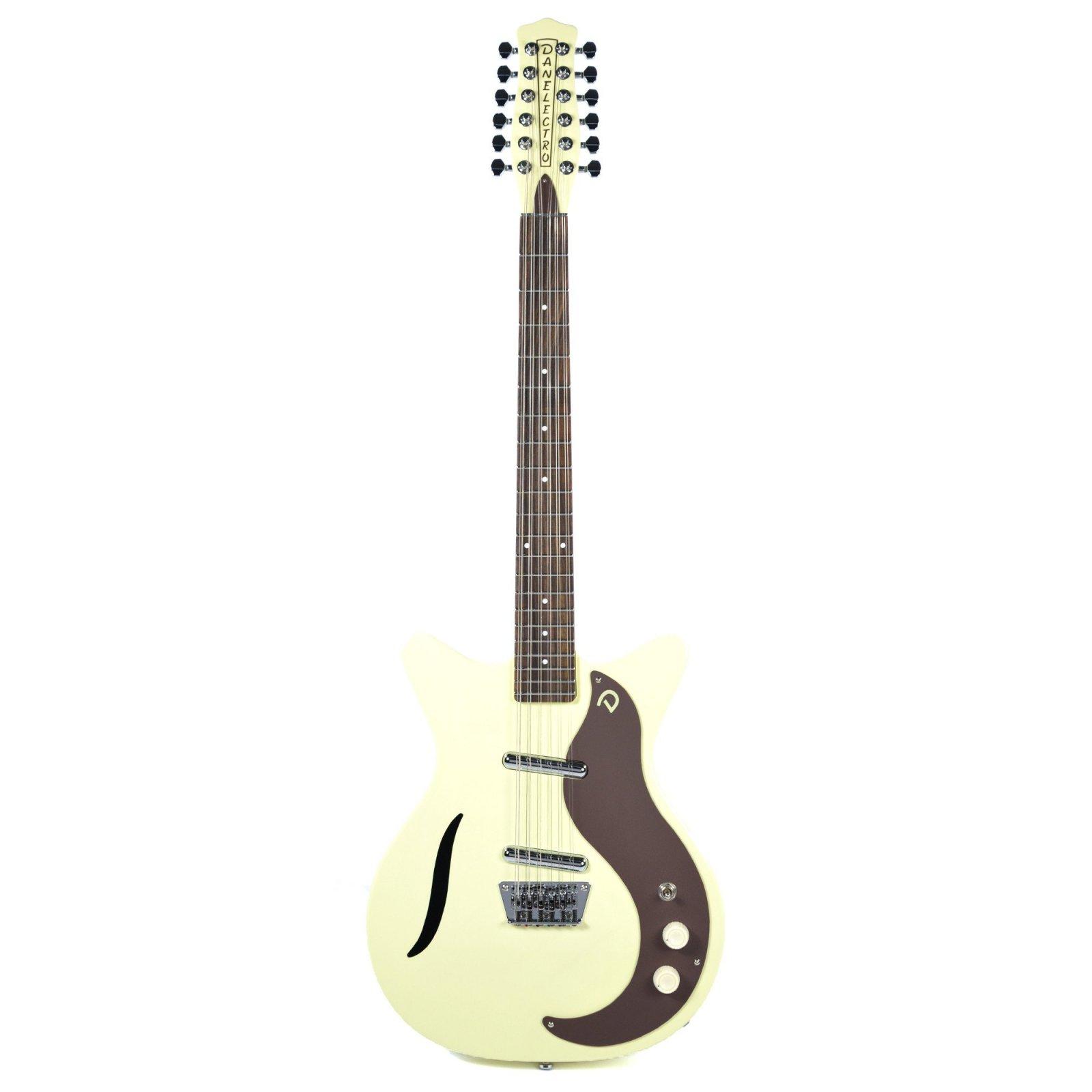 Danelectro '59 Vintage 12-String Electric Guitar - Vintage White
