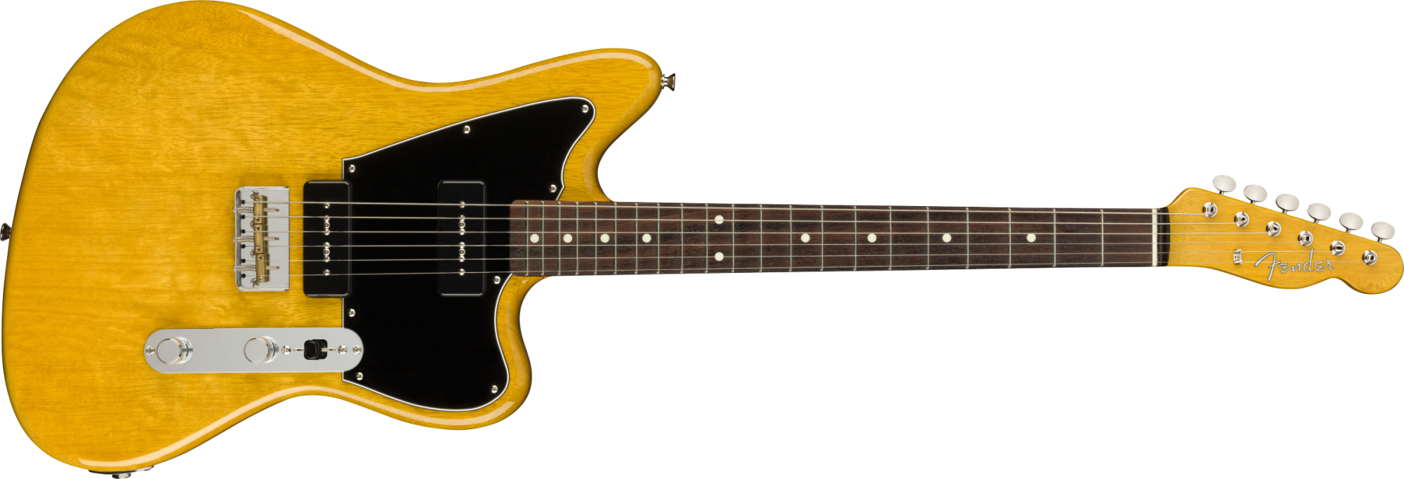 Fender Limited Edition Offset Korina Tele - Made In Japan - Aged Natural