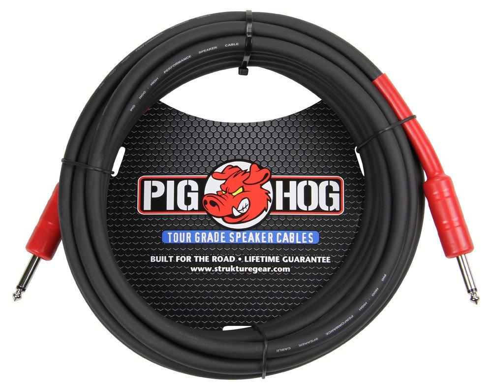 Pig Hog PHSC50 1/4 50' 14 Gauge 8mm Speaker Cable