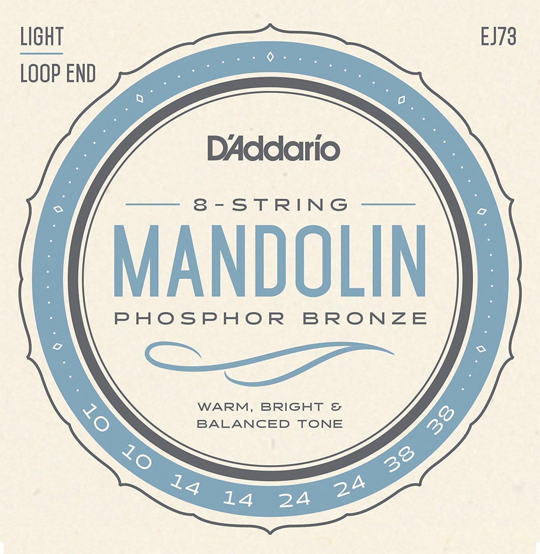 D'Addario EJ73 Phosphor Bronze Light Mandolin Strings