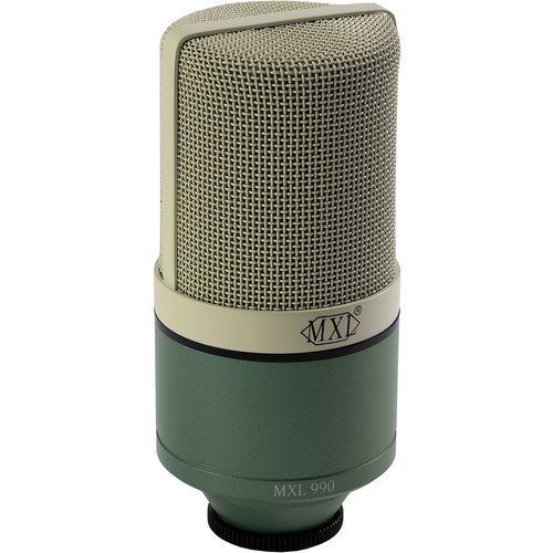 MXL 990 Condenser Microphone with Case - Surf
