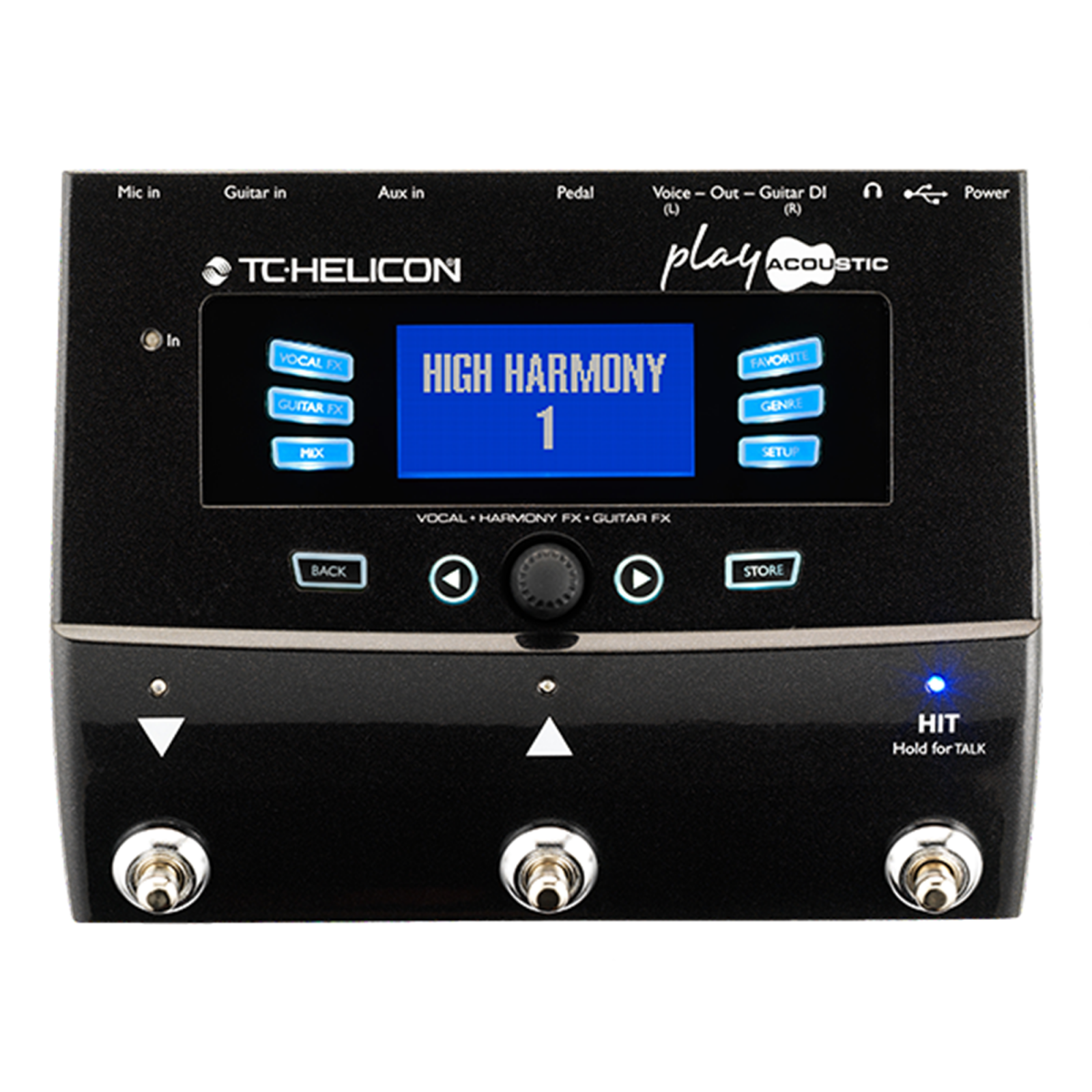 Tc Helicon Voicelive Play Acoustic Guitar Effects Pedal 5706622019820
