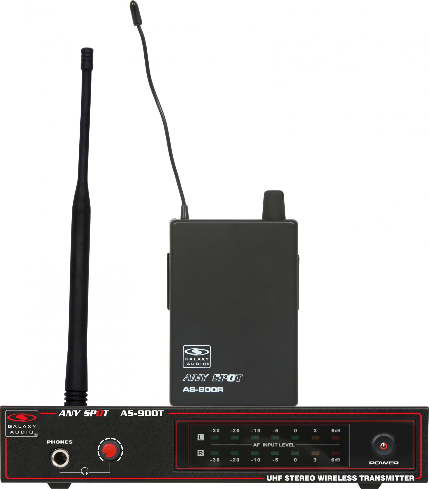 Galaxy Audio AS-900 IEM Wireless Personal Monitor System (N1 Band, 514.4 MHz)