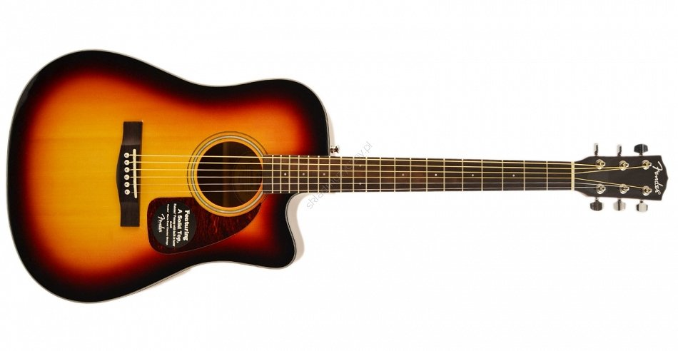 Fender CD-140SCE Dreadnaught Acoustic Electric Guitar - Sunburst