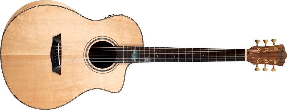 Washburn Bella Tono Allure SC56S Acoustic/Electric - Gloss Natural