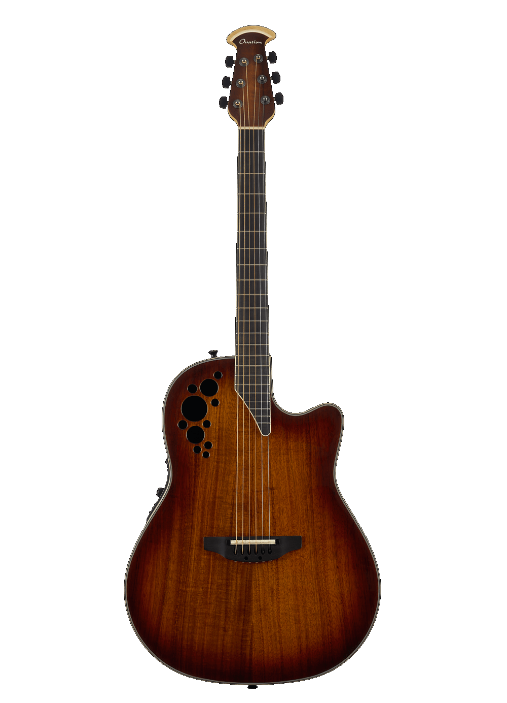 Ovation C2078AXP2-KOAB ExoticWood Collection Elite Acoustic Electric Guitar