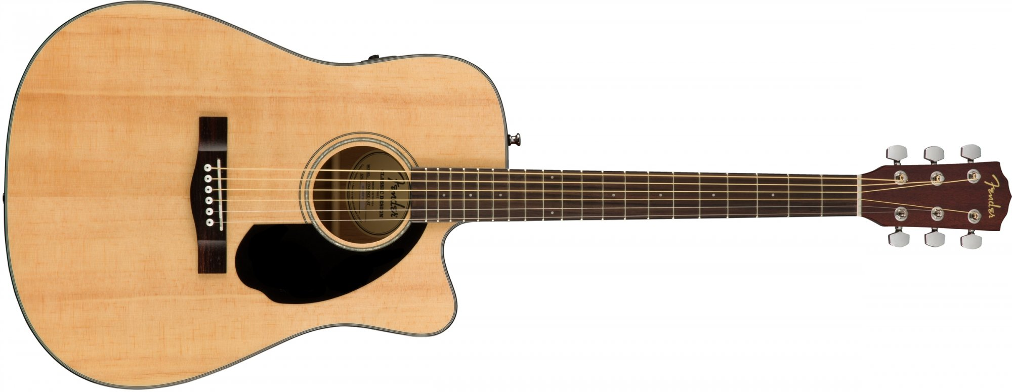 Fender CD-60SCE Acoustic Electric Guitar - Natural