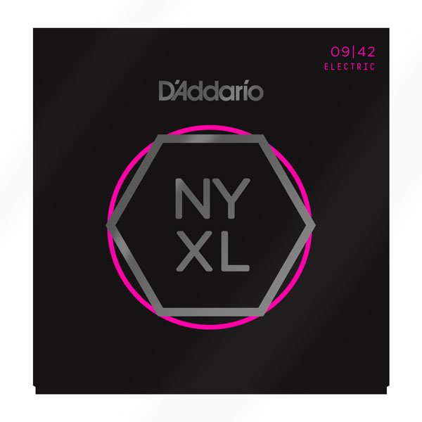 D'Addario NYXL0942 Nickel Wound Super Light Electric Guitar Strings 9-42