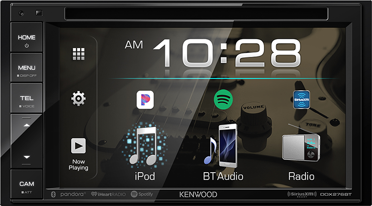 KENWOOD DDX276BT A/V Reciever with Bluetooth and Sirius XM Capabilities