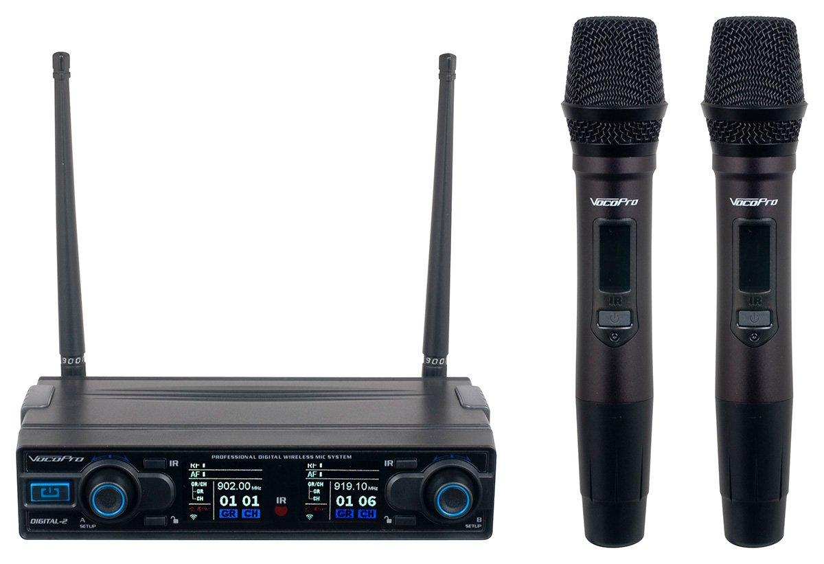 Vocopro Dual Wireless Rechargeable Handheld Microphones