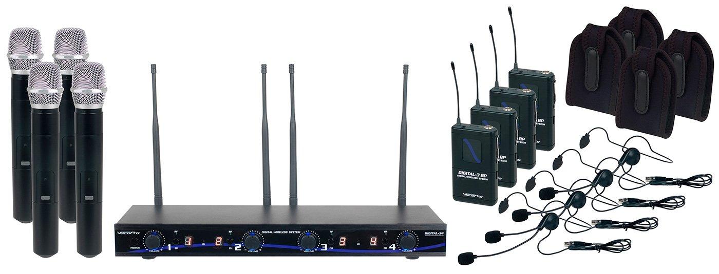 VocoPro Digital-34-Ultra Four-Channel Digital Wireless