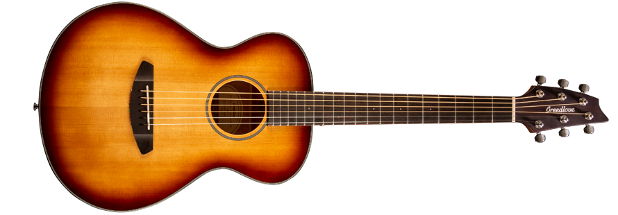 Breedlove Discovery Companion Acoustic Guitar - Sunburst