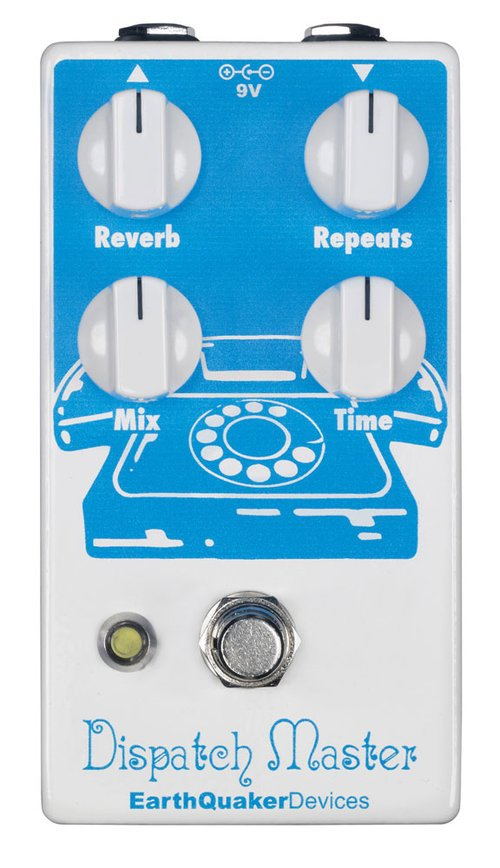 EarthQuaker Devices Dispatch Master V2 Delay and Reverb Pedal