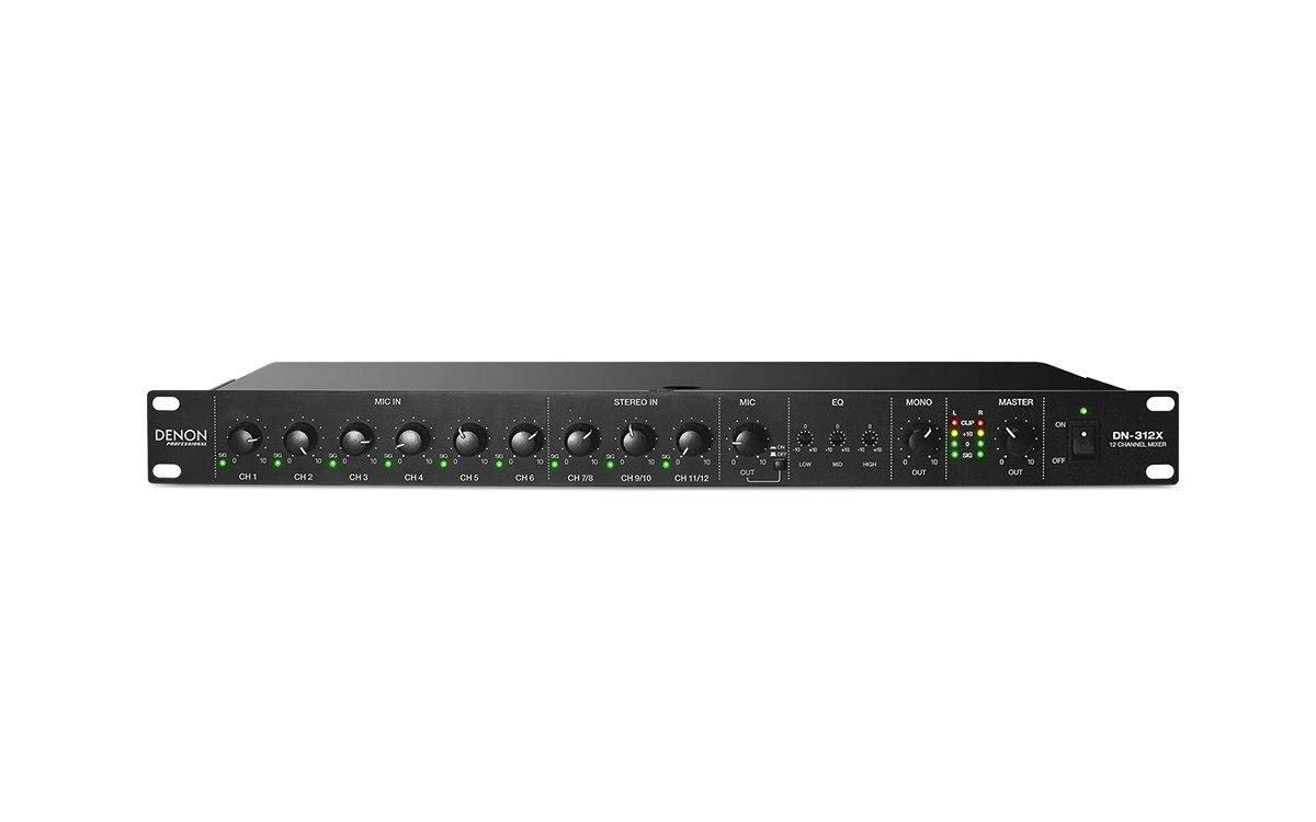 Denon DN-312X 12-Channel Mixer w/ Mic Priority
