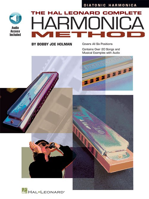 The Hal Leonard Complete Harmonica Method – The Diatonic Harmonica