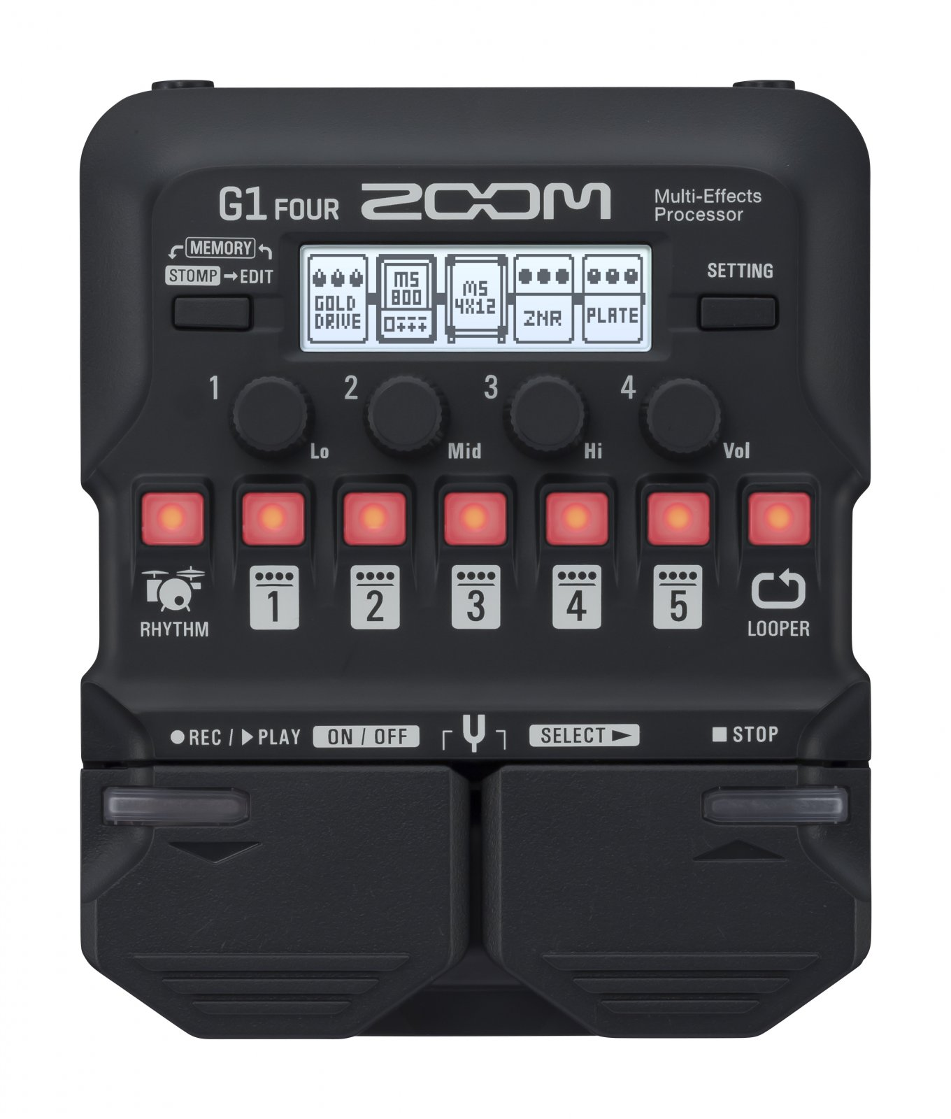 Zoom G1 Four Guitar Effects Pedal