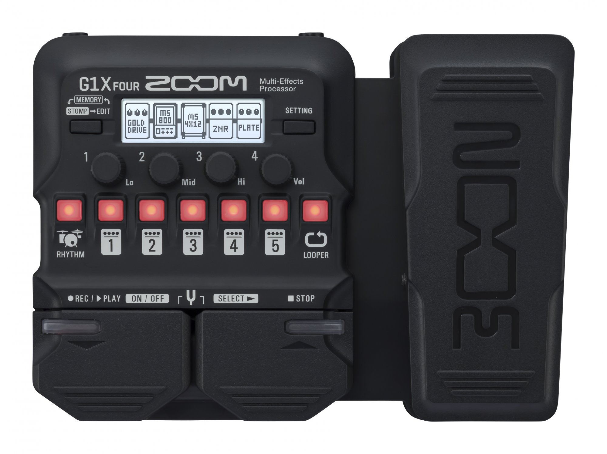 Zoom G1X Four Multi-Effects Pedal