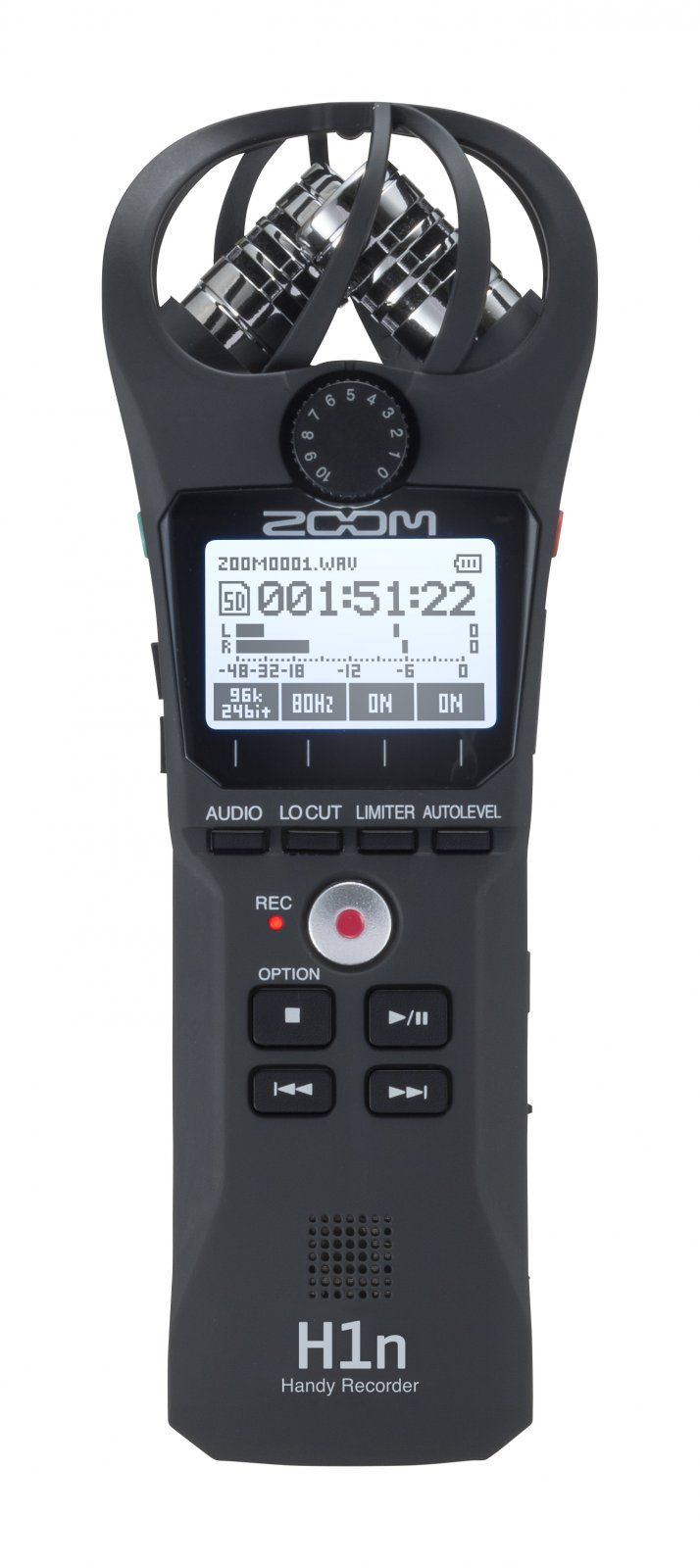 Zoom H1n Handy Audio Recorder