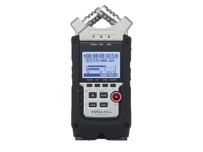 Zoom H4n Pro 4-Channel Handy Field Recorder