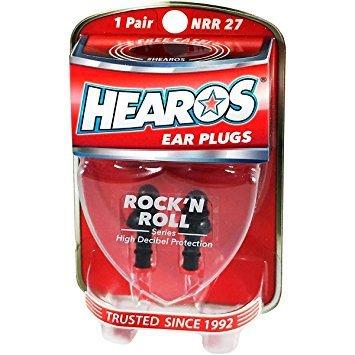Hearos Rock 'N Roll Reusable Ear Plugs