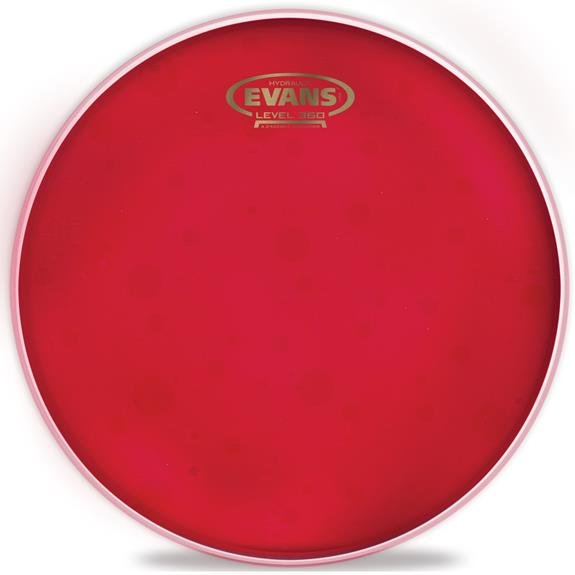 Evans Hydraulic Red Drumhead