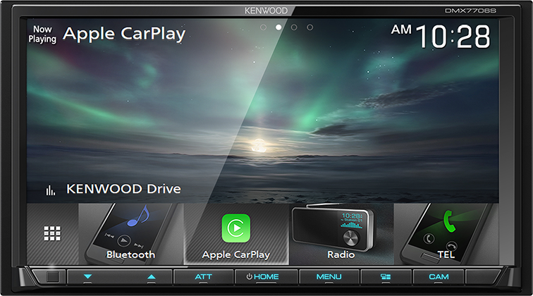 KENWOOD DMX7706S Digital Media Reciever with Apple CarPlay & Android Auto