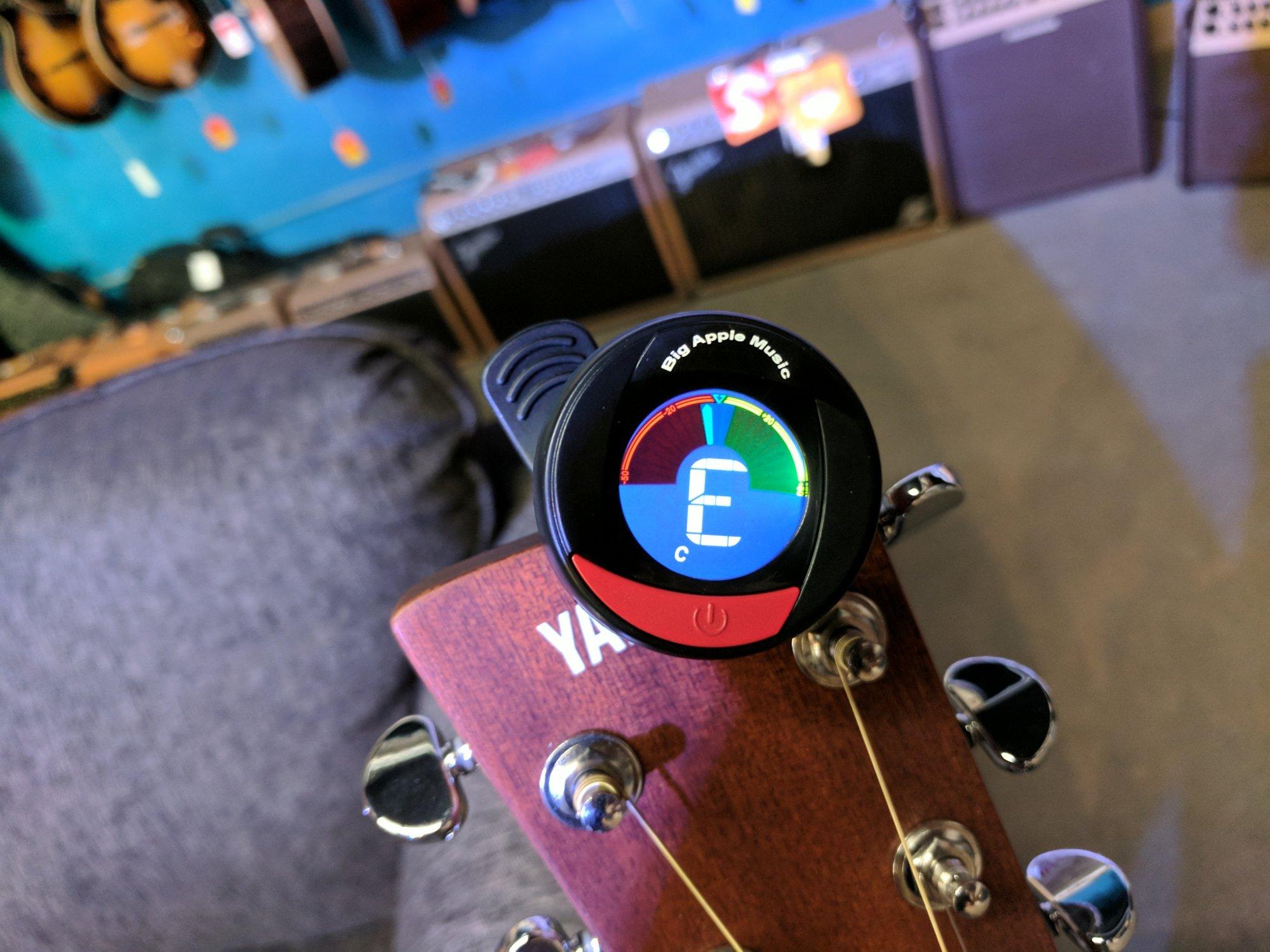 Big Apple Music 360 Degree Digital Clip Tuner