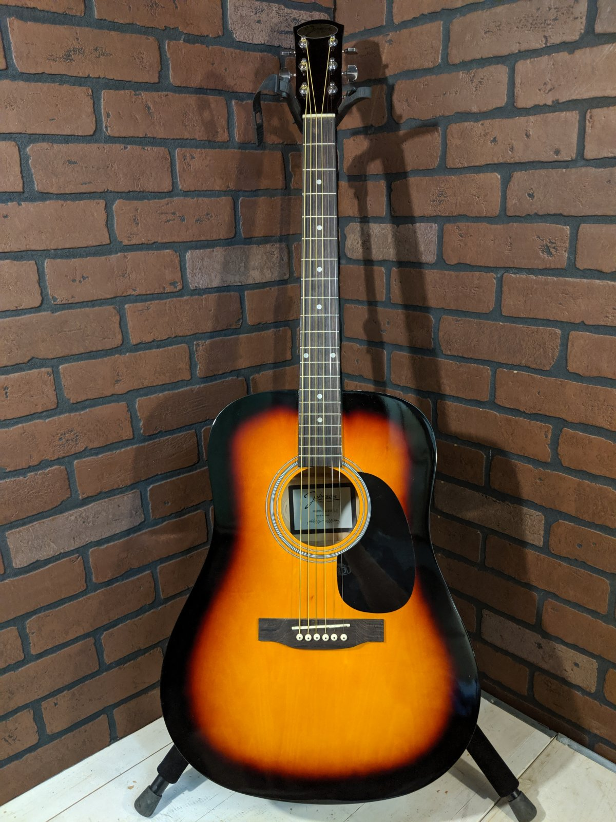 Johnson Dreadnought Acoustic Guitar (full-size)