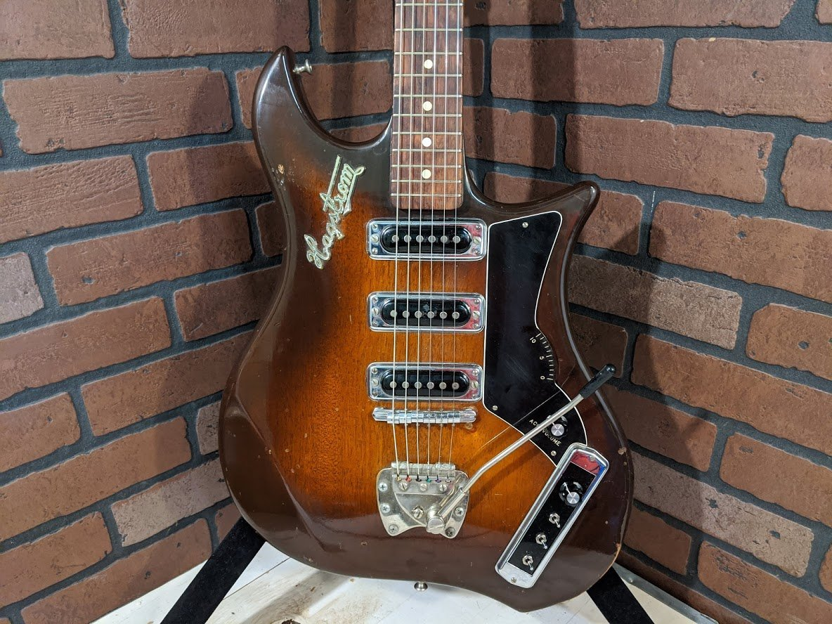 Vintage Hagstrom Condor 60's Electric Guitar - Made In Sweden - USED