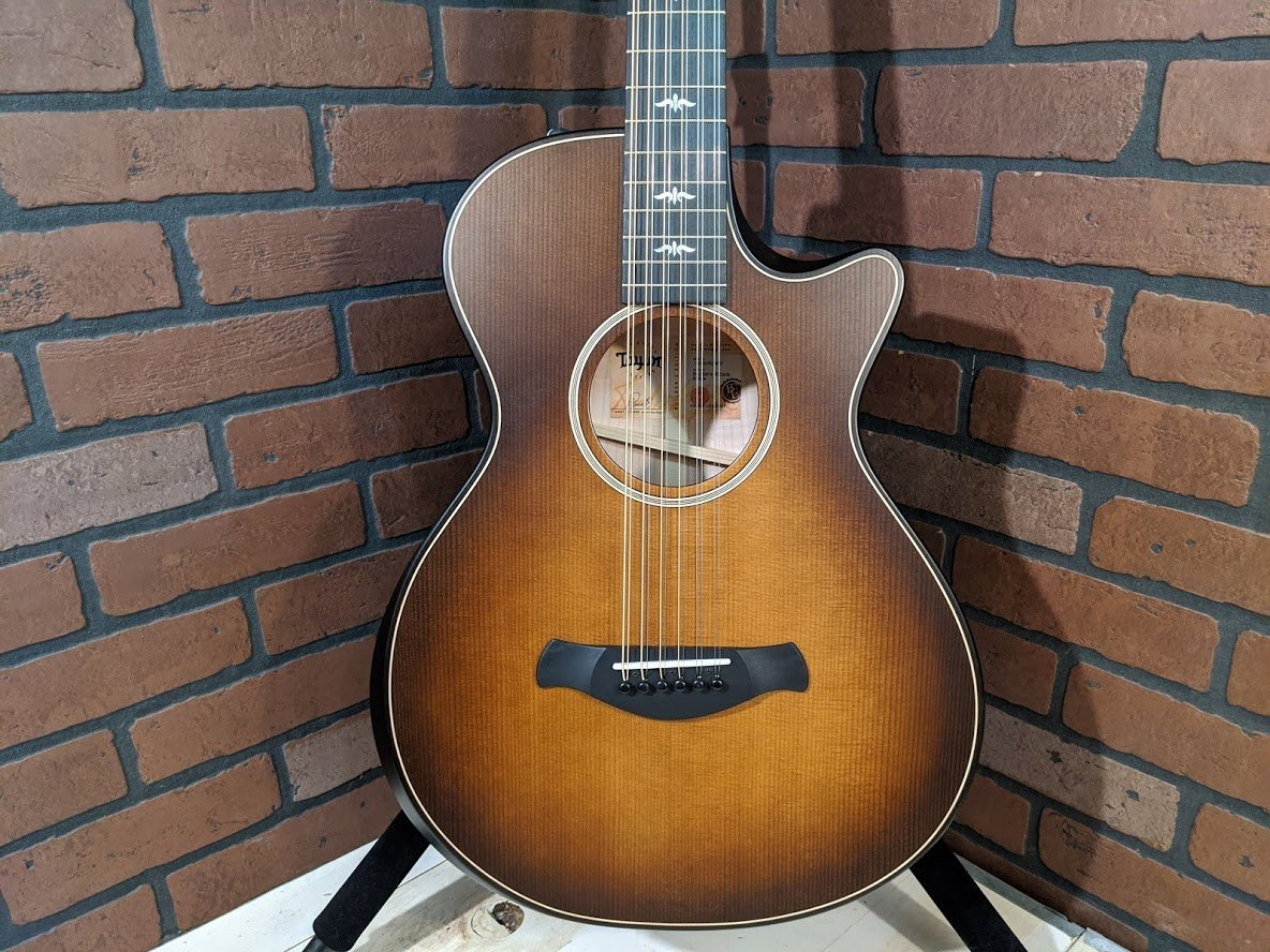 Taylor 652ce Builder's Edition 12-String - Wild Honey Burst