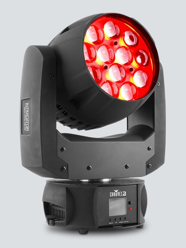 Chauvet DJ Intimidator Wash Zoom 450 IRC 12-LED RGBW Moving-Head Wash w/ Zoom