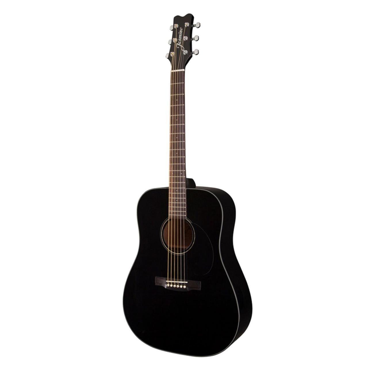 Jasmine JD39 Dreadnought Acoustic Guitar - Black