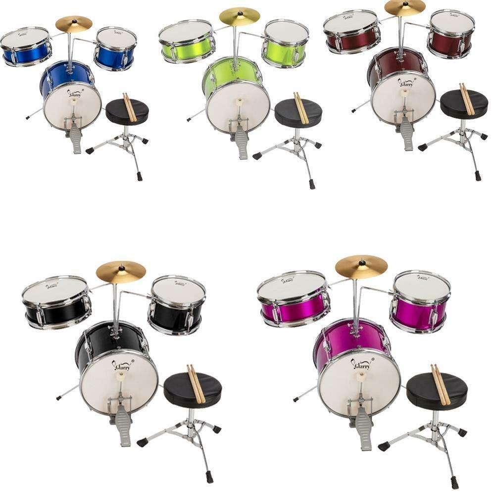 Legion Junior / Kids 3 Piece Drum Set - Blue