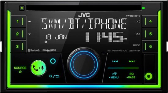 JVC KW-R940BTS DDIN CD Receiver