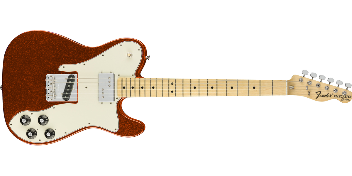 Fender Limited Edition '72 Tele Custom - Orange Sparkle