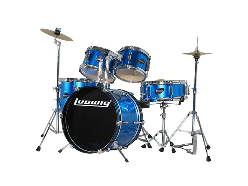Ludwig Junior Outfit Drum Set - Blue