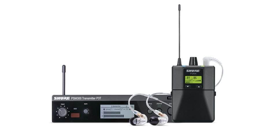 Shure PSM 300 Wireless In-ear Monitor System - G20 Band